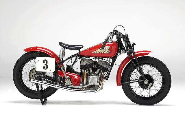 The ex-Steve McQueen,1940 Indian Scout