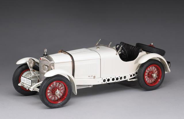 A rare 1/12 scale 1929 Mercedes-Benz SSK-L by Fulgurex, Swiss,