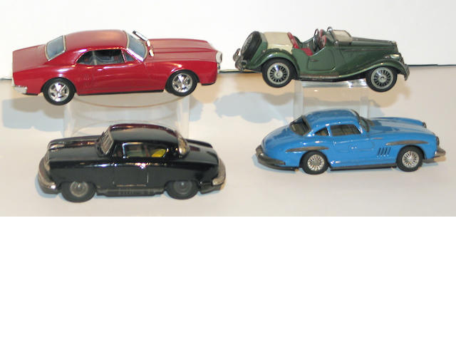 Collectible Lithographed Automobiles