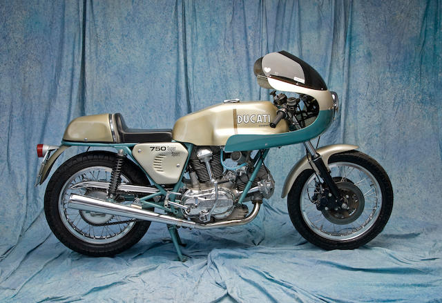 One owner and only approximately 5,000 miles from new,1975 Ducati 750 Super Sport