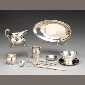 Group of Sterling Table Articles and Flatware