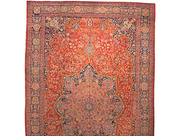 A Fereghan carpet Central Persia, size approximately 13ft. x 22ft. 4in.