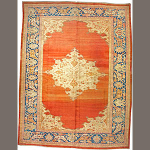 A Sultanabad carpet Central Persia, size approximately 12ft. 5in. x 16ft. 3in.