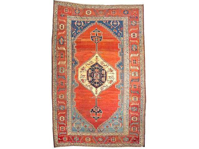 A Serapi carpet Northwest Persia, size approximately 11ft. 11in. x 18ft. 6in.