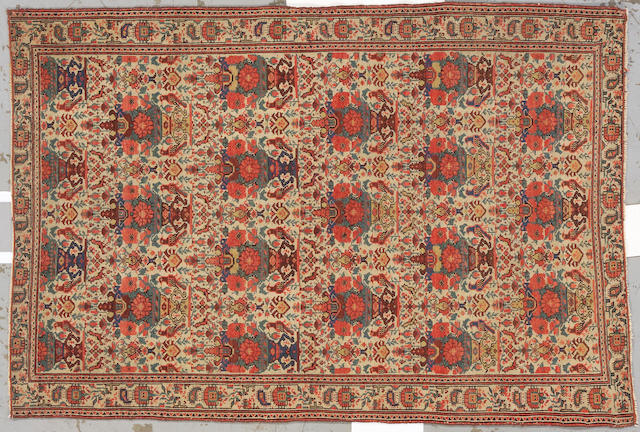 A Malayer rug Central Persia, size approximately 4ft. 1in. x 6ft. 3in.