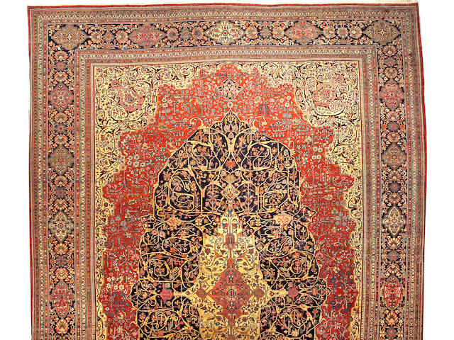 A Fereghan carpet Central Persia, size approximately 15ft. 7in. x 22ft. 5in.