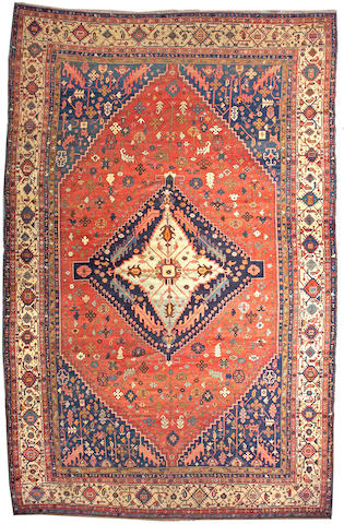 A Serapi carpet Northwest Persia, size approximately 11ft. 8in. x 18ft. 4in.