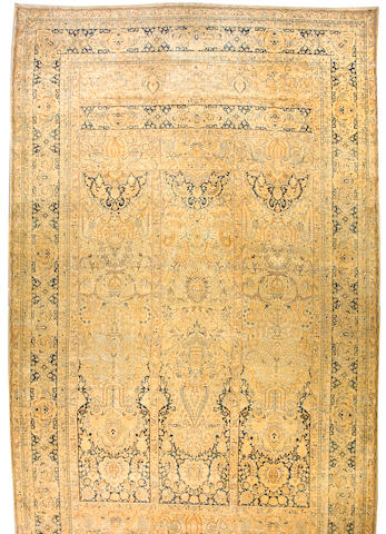 A Lavar Kerman carpet South Central Persia, size approximately 11ft. 9in. x 21ft. 4in.