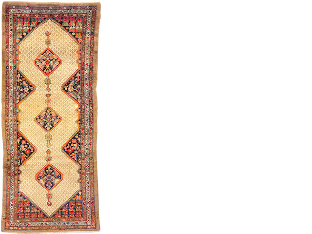 A Serab runner Northwest Persia, size approximately 3ft. 10in. x 10ft. 4in.
