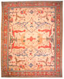 An Oushak carpet West Anatolia, size approximately 13ft. 5in. x 16ft. 7in.