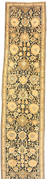 A Karabagh runner  Caucasus, size approximately 3ft. 9in. x 18ft. 7in.