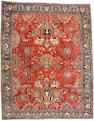 A Fereghan Sarouk carpet Central Persia, size approximately 10ft. 8in. x 13ft. 5in.