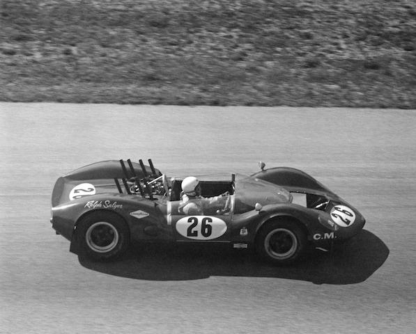 The ex-Ralph Salyer 'Cro-Sal' Special,1965 McLaren-Elva M1A Chevrolet Sports Racer  Chassis no. 20-06