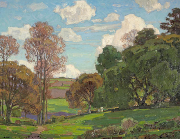 William Wendt (American, 1865-1946) California Landscape 28 x 36in