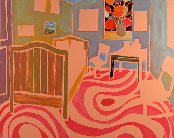 Anton Henning (German, born 1964) Interior No. 83, 2001 49 5/8 x 61 7/8in (126 x 157cm)