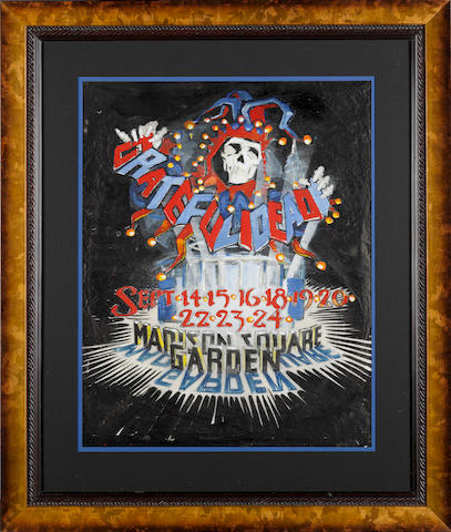 Rick Griffin: Grateful Dead at Madison Square Garden, 1988,