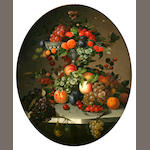 C. Baum, Still life with fruit