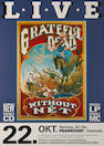 A 'Gold' sales award for the album 'Without A Net' by the Grateful Dead,