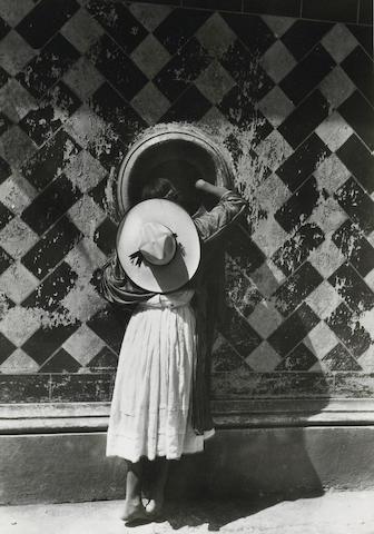 Manuel Alvarez Bravo (Mexican, 1902-2002); La Hija de los Danzantes (The Daughter of the Dancers);