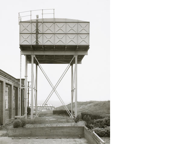 Bernd and Hilla Becher (German, 1931-2007 and born 1934); Water Tower, Kirkham Gate, near Leeds, Eng