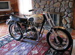 "100 point restoration, Bud Ekins ""Tribute Triumph"" ,1967 Triumph Bonneville 650cc TR6R"