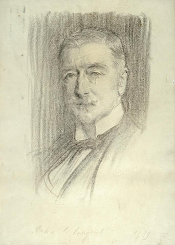 John Singer Sargent (American, 1856-1925) Portrait of William Walker, 1st Baron Wavertree