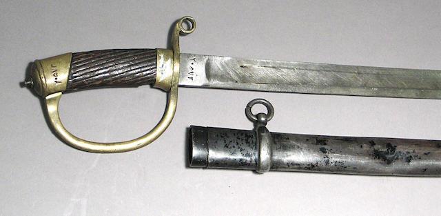 A Persian Model 1909 military shasqua