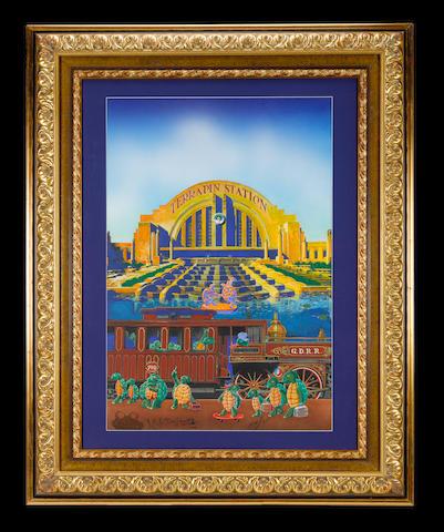 Stanley Mouse & Alton Kelley: Grateful Dead - Terrapin Station,