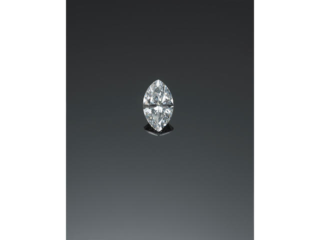 An umounted diamond