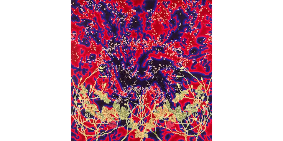 Sharon Ellis (American, born 1955) Sunken Garden, 1993 30 x 30in (75 x 75cm)
