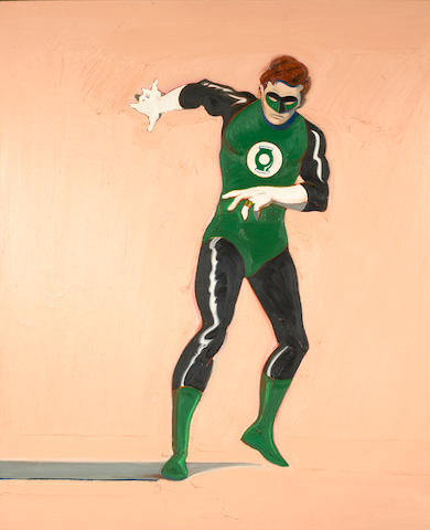 Mel Ramos (American, born 1935) The Green Lantern, 1962 49 x 43in (124 x 109cm)
