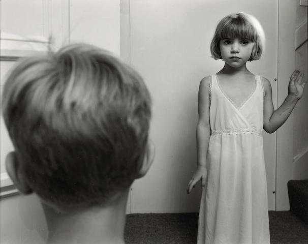 Nicholas Nixon (American, born 1947); Clementine and Sam, Cambridge;