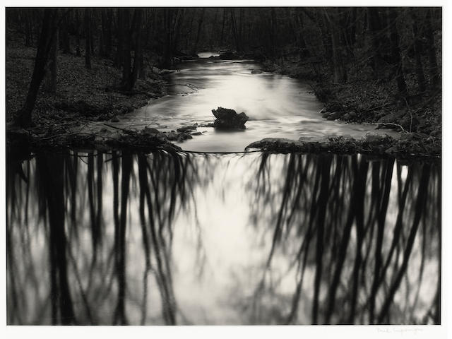 Paul Caponigro (American, born 1932); Stream, Redding, Connecticut;