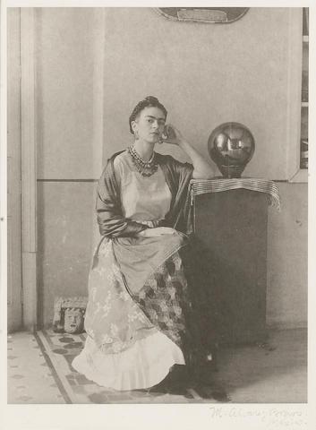 Manuel Alavez Bravo, Frida Kahlo;