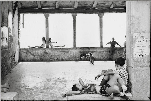 Henri Cartier-Bresson (French, 1908-2004); Simiane La Rotonde, France;