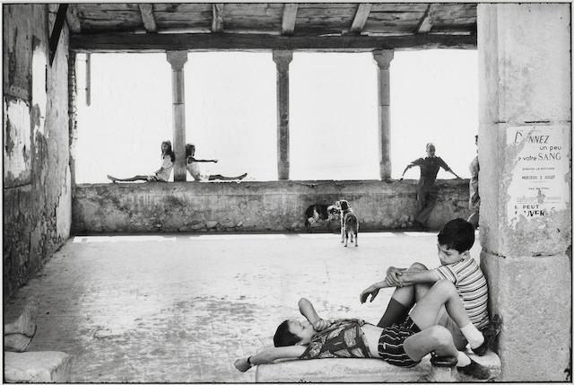 Henri Cartier-Bresson (French, 1908-2004); Simiane La Rotonde, France;