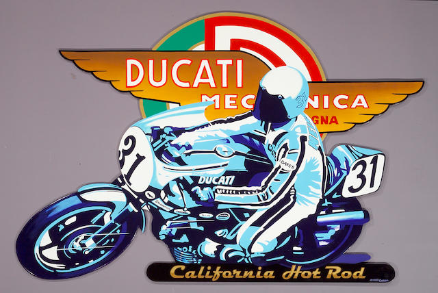 Ducati - 'California Hot Rod' by Robert Carter,