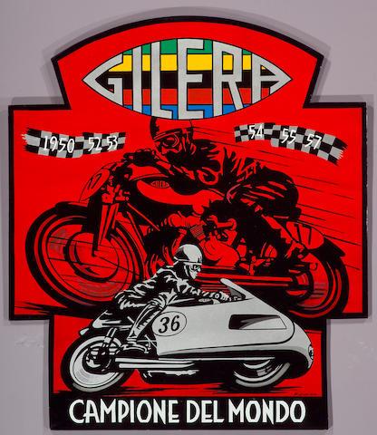 Gilera - Campione del Mondo by Robert Carter,
