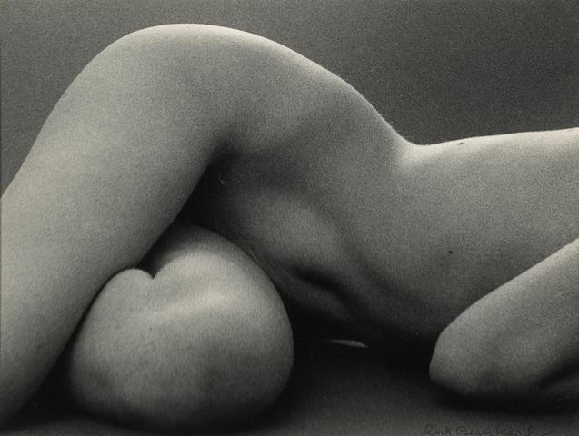 Ruth Bernhard (American, 1905-2006); Hips Horizontal;