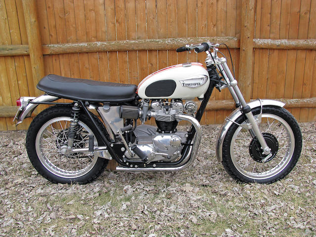 "100 point restoration, Bud Ekins ""Tribute Triumph"" ,1967 Triumph 649cc TR6R Trophy"
