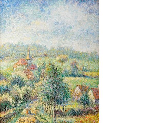 """H. Claude Pissaro, """"Monthou en Normandie"""", """"Port Saint Piere"""" (2)"""