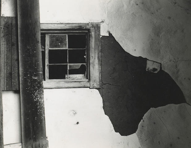 Edward Weston (American, 1886-1958); Old Adobe, Carmel Valley;
