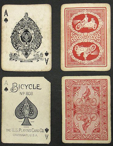 A pack of Bicycle brand playing cards, American, circa 1900,