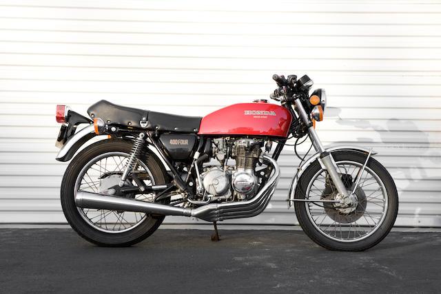 1976 Honda 408cc CB400F Frame no. CB400F 2002897
