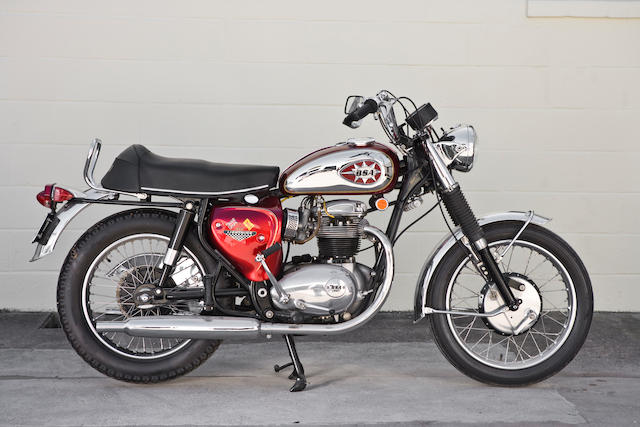 1968 BSA 650cc A65 Lightning Frame no. A65LB 6795 Engine no. A65LB 6795