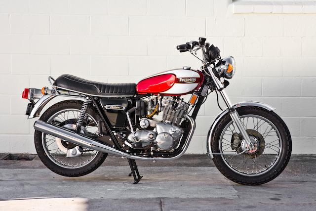 1975 Triumph Trident T160 3-Cylinder