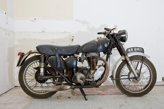 1954 AJS 350cc 16MC Engine no. 54/161521376