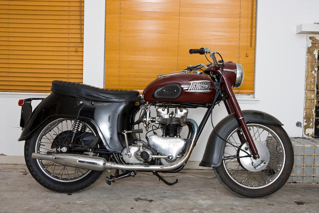 1962 Triumph Bathtub 500cc