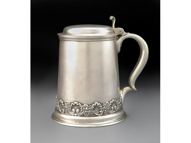 Sterling 3 1/4 Pint Tankard by Tiffany & Co.