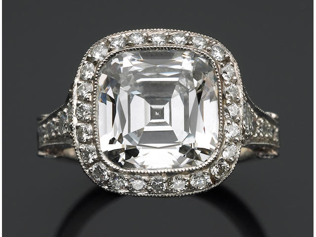 A diamond solitaire ring, Tiffany & Co.